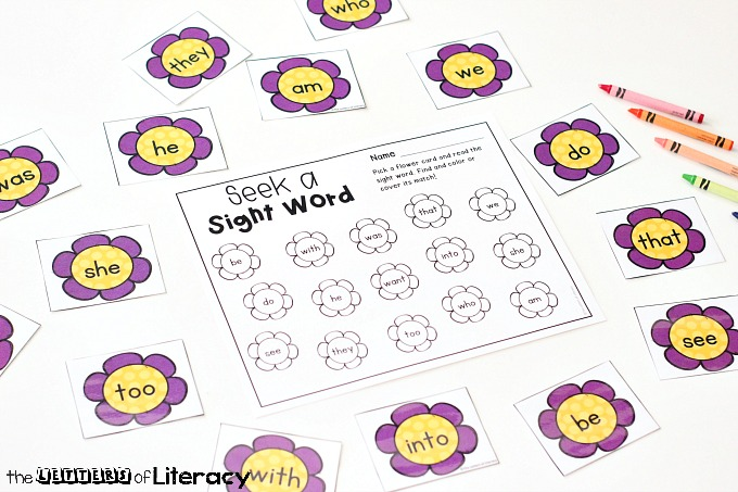 image about Word Game Printable called Editable Spring Sight Phrase Recreation - The Letters of Literacy