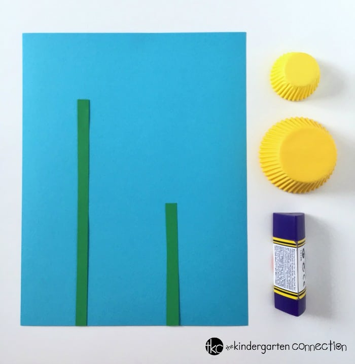 Easy Daffodil Spring Craft Prep