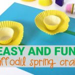 Easy Daffodil Spring Craft