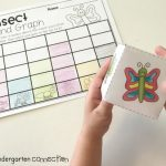 Insect Roll and Graph FREE Math Printable, for center activity, use with printable dice