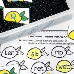 Lemonade Sensory Bin and Printables