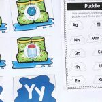 Puddle Jumping Beginning Sounds Match