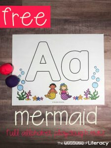 Grab these adorable Mermaid Alphabet Play Dough Mats for the mermaid lovers in your classroom! These play dough mats are great for your homeschool or tradition classroom. Children will work on fine motor skills, correct letter formation and so much more! Tips and encouragement for all the benefits of using play dough!