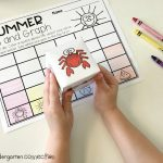Summer Roll and Graph FREE printable