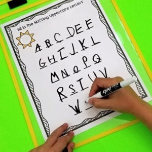 Alphabet Printables for Early Learners