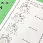 Sandcastle CVC Words Activity