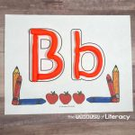ABC Play Dough Mats For Back To school