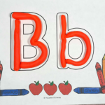 Back to School Alphabet Play Dough Mats