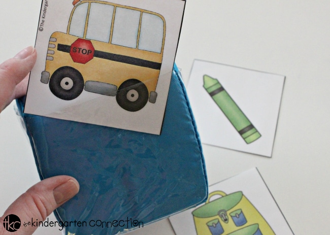 Back to School Roll & Graph Math Activity, FREE printables for Pre-K and Kindergarten
