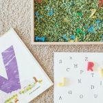 Letter Match Sensory Bin