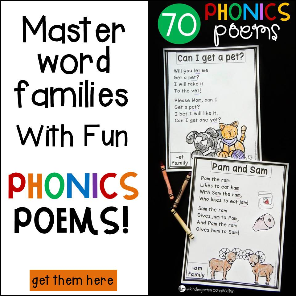 Phonics Poems for Early Readers