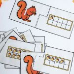 Acorn Ten Frame Number Matching Puzzles