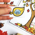 Autumn Leaves Beginning Sounds Cards