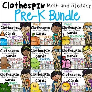 pre-k bundle cover