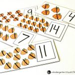 Pumpkin Dry Erase Counting Cards
