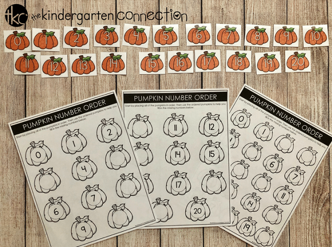 Working on number identification and number sense with your Pre-K or Kindergarten student? This free printable number order center will help!