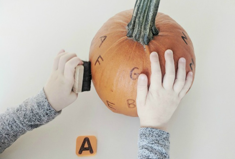 Pumpkin Alphabet Activity