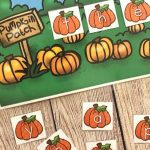 Pumpkin Patch Sight Word Center