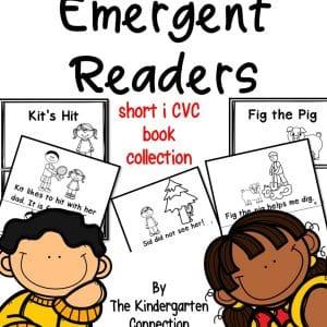 CVC readers short i cover