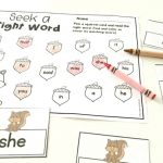 Fall Editable Sight Word Game