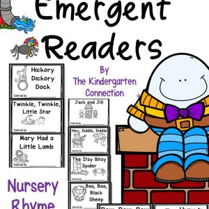 Emergent Readers Nursery Rhymes Cover