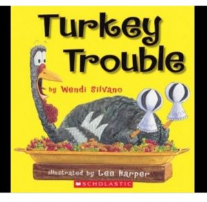 Turkey Trouble is a hilarious story about a turkey in disguise!