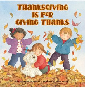 Thanksgiving is for Giving Thanks is a touching story that teaches children what it means to be thankful!
