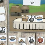 Thanksgiving Feast Sight Word Center