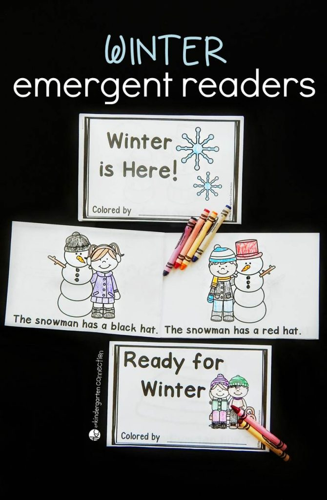 Emergent Readers - Winter Collection