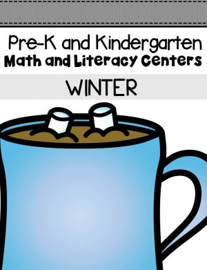 This pack is filled with engaging math and literacy centers for Pre-K and Kindergarten students with a winter theme.