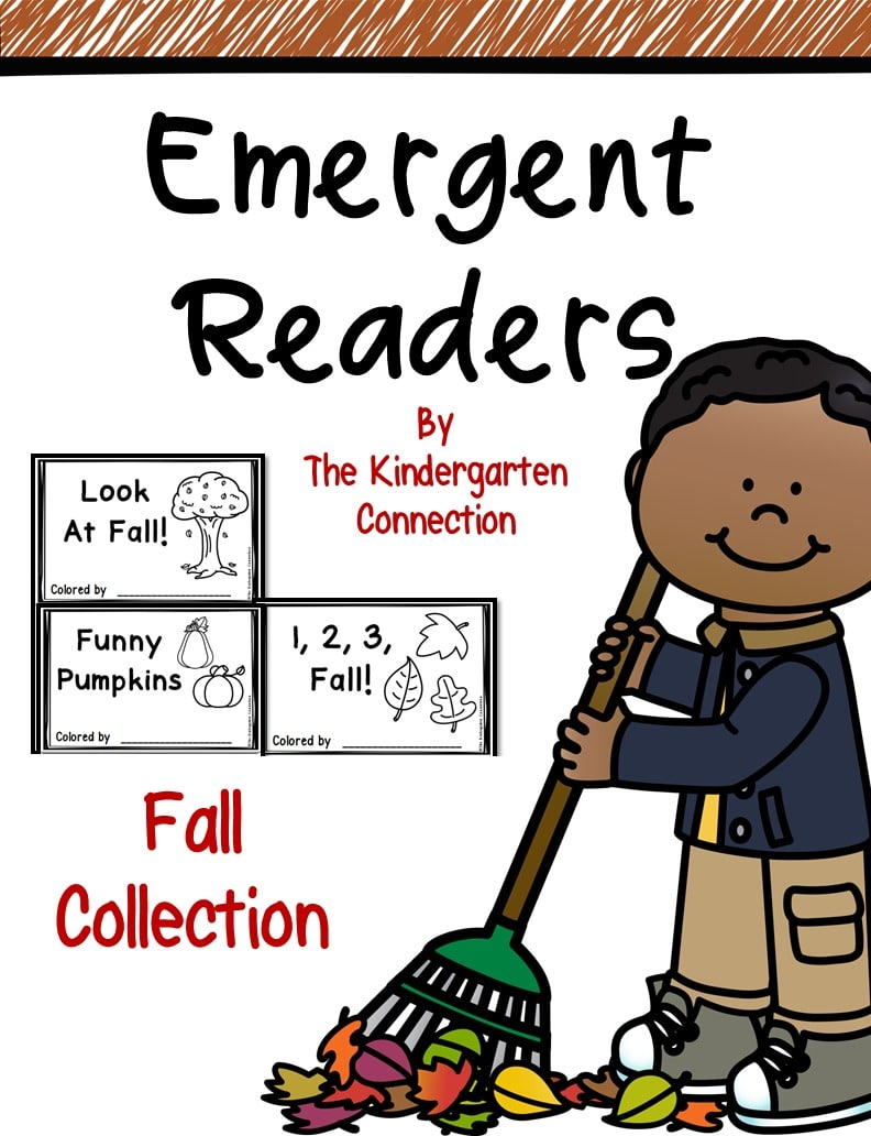 Fall Emergent Readers