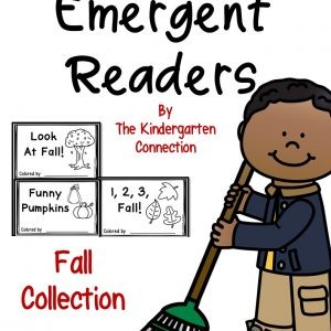 fall emergent readers cover