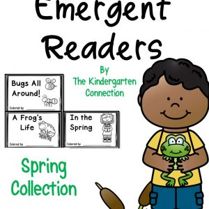 spring emergent readers cover