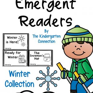 winter emergent readers cover