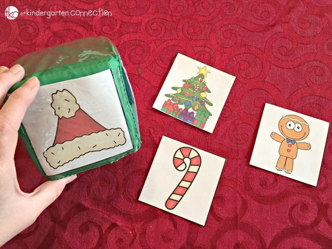 Use this free Christmas Roll and Graph Math Activity for math centers or in pairs with a partner! It is perfect for Kindergarten and Pre-K!