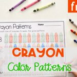 FREE Crayon Color Patterns Activity