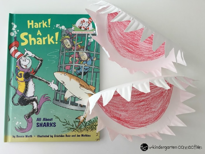 Hark! A Shark! Paper Plate Craft for Kids, simple art project for preschool and kindergarten!