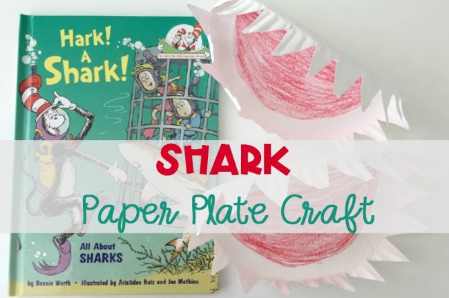 Easy Shark Paper Plate Craft for Kids