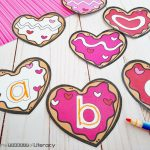 Valentine Cookie Pre-Writing Activity
