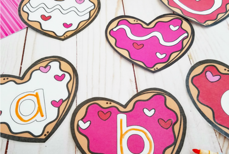 Valentine's Day Cookie Pre-Writing Activity