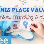 Ones Place Matching Place Value Activity