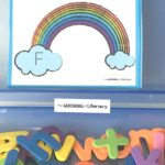 Rainbow Upper and Lowercase Matching Activity