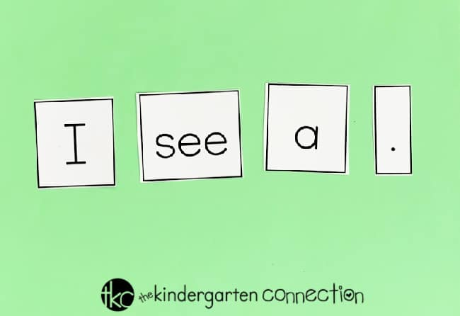 Grab our FREE St. Patrick's Day Sentence building and writing activity for your kindergarten classroom! This printable is great for small groups and writing center. Children will have fun writing their very own sentences in an independent, creative way!
