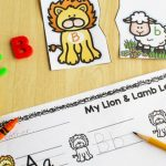 Lion and Lamb Printable Alphabet Puzzles