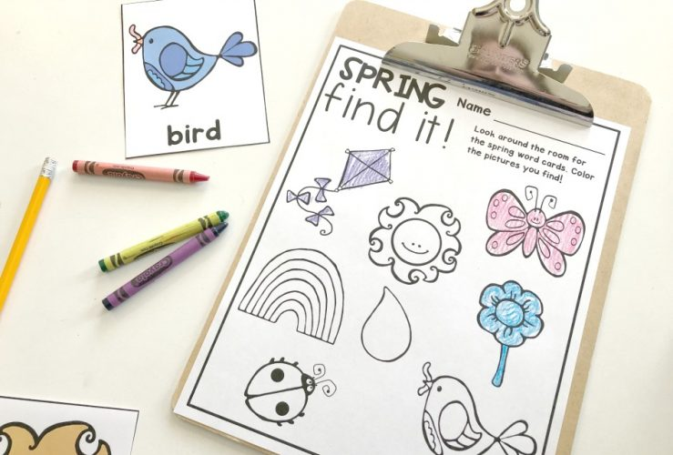 Spring Writing Center Activity