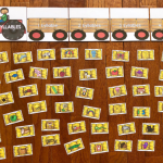 Farm Syllable Sort Activity