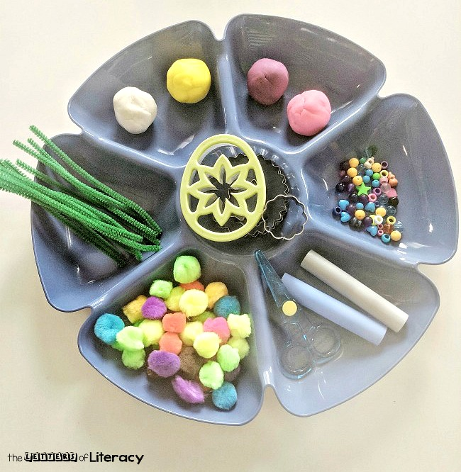 Find out how to create a springtime invitation to play center with this Flower Garden Fine Motor Play Activity! This literacy center will have your children working their fine motor muscles which are necessary for early writing skills. Use in either pre-k or kindergarten classrooms!