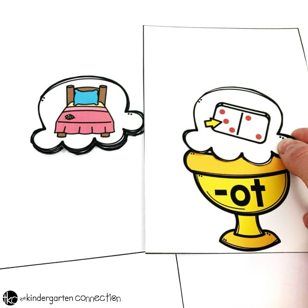 Grab our FREE Ice Cream Sundae CVC Word Family Sort Printables for your Kindergarten literacy centers! Just print and laminate for an instant word family activity!