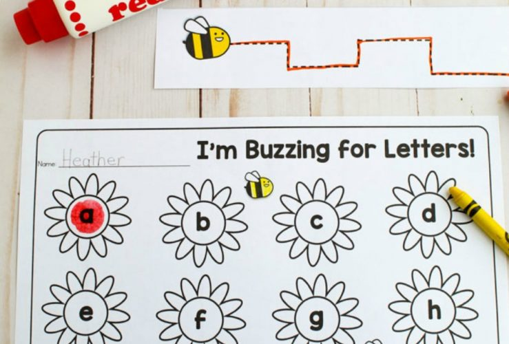May Flowers Pre-Writing Activity