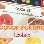 Cookies Color Sorting Printable